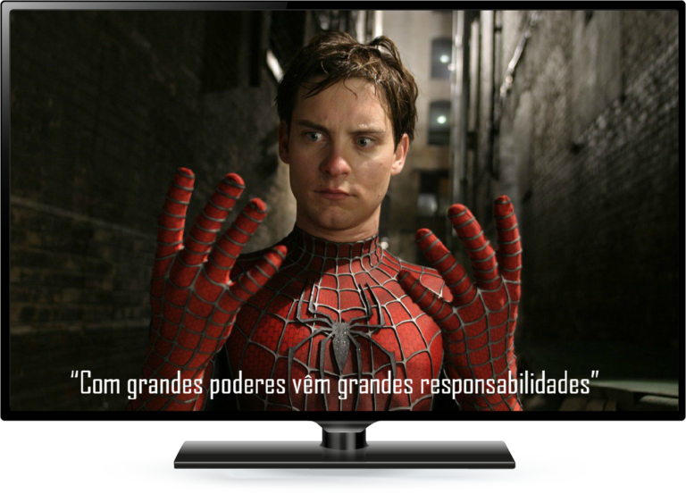 Spiderman Na Tela