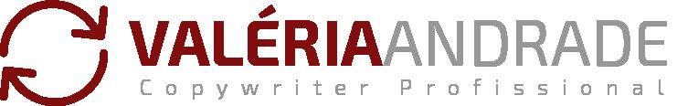 Logomarca Valéria Andrade Copywriter Profissional